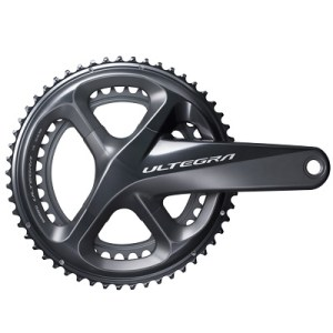 Shimano CrankSet, FC-R8000, Ultegra, for Rear 11-Speed, HollowTECH-2, 175MM 46-36T, w/o BB