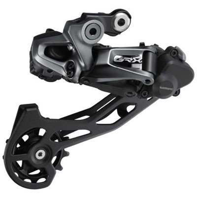 Shimano Rear Derailleur, RD-RX815, GRX, 11-Speed, Shadow Plus Design, Direct Attachment(Direct Mount Compatible), 2x11