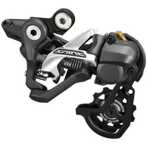Shimano Rear Derailleur, RD-M820-SS, SAINT, 10-Speed Top-Normal, Shadow Plus Design, Direct Attachment, for DH, 11-23/11-28T SetTING, MODE CONVERTER