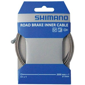 Shimano MTB SUS Stainless Stell Brake Inner Cable 1.6MM X 2050MM