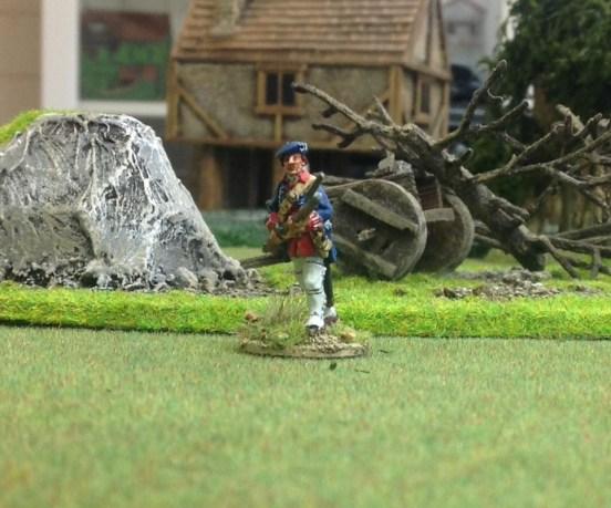 Royal Ecossais Advancing