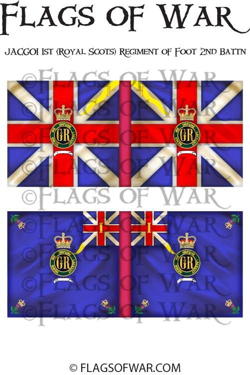Royal Scots Regt Of Foot 2nd Battalion