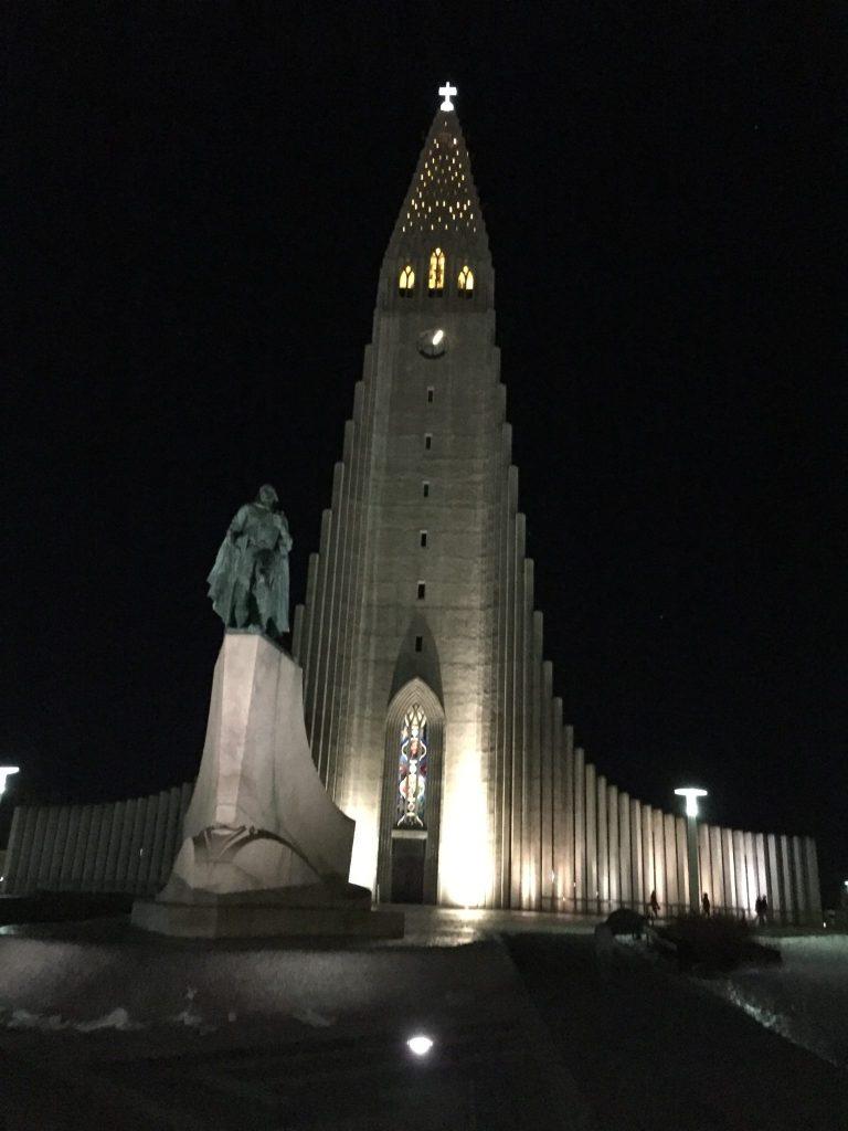 Eglise Reykjavik - Islande