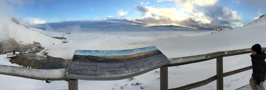 Panorama de Seltun - Islande