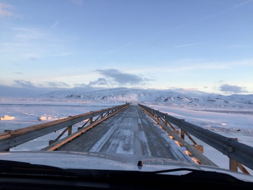 Pont - Islande