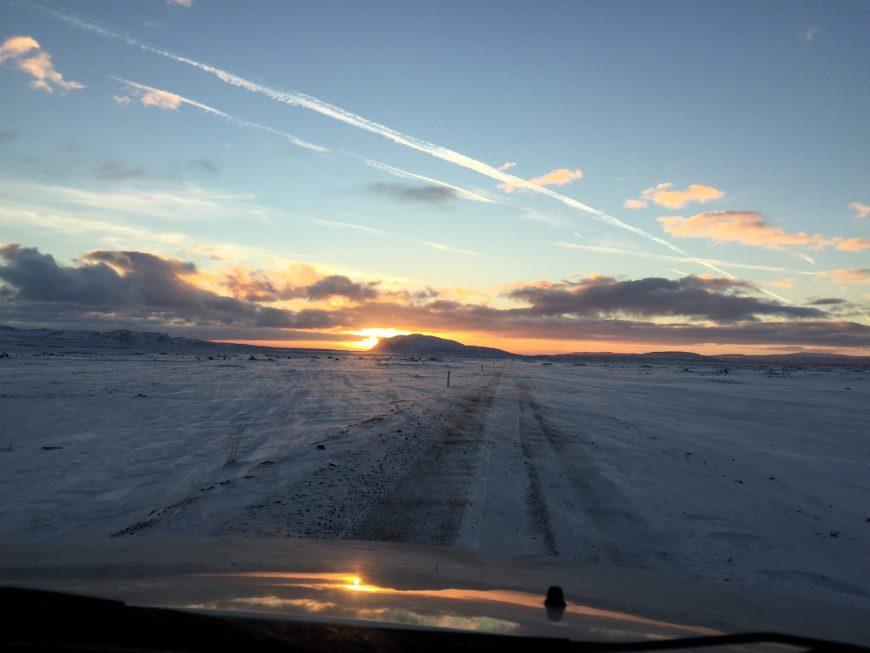 Route - Islande