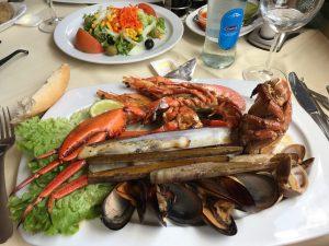 Tenerife - Fruits de mer à Los Gigantes