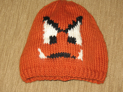 Mario Goomba Wooly Hat Boing Boing