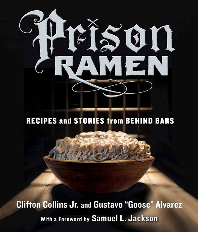 The cover of Gustavo Alvarez's 'Prison Ramen.'