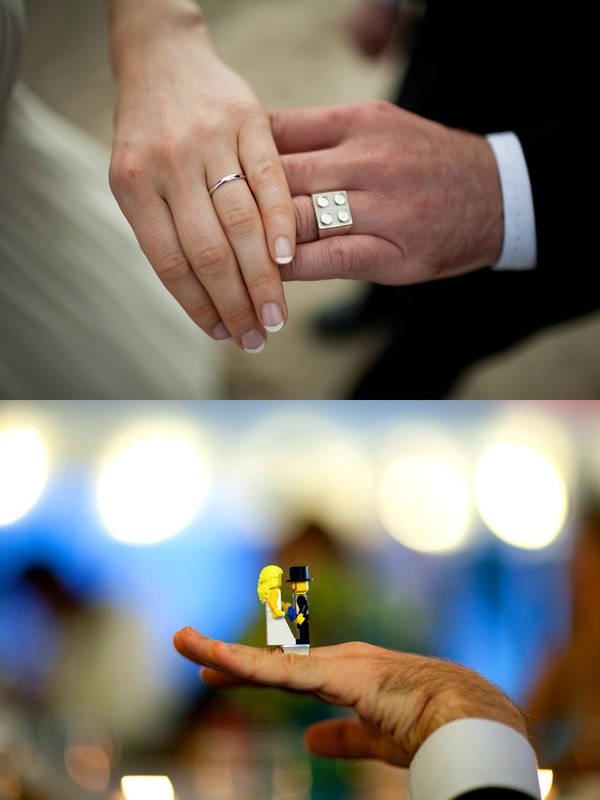 Lego Wedding Ring Boing Boing