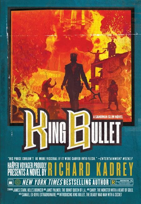 The cover for KING BULLET.