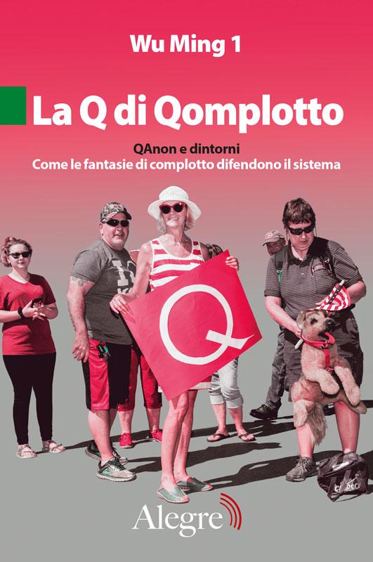 The cover of 'La Q di Qomplotto' ('The Q in Qonspiracy').