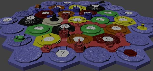 graphic regarding Settlers of Catan Printable titled Is it prison in the direction of print Settlers of Catan tiles upon a 3D printer