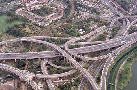Crazed Freeway Interchanges Boing Boing