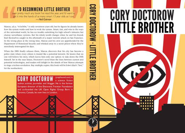 Student Cover For Little Brother Boing Boing