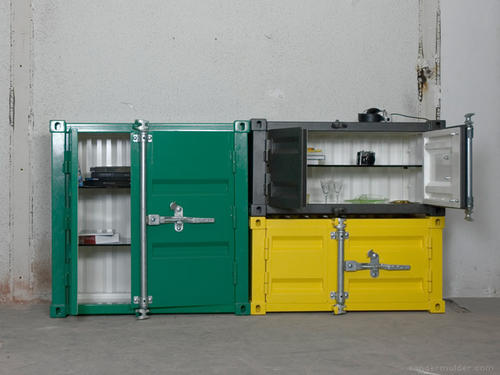 Shipping container cabinets / Boing Boing