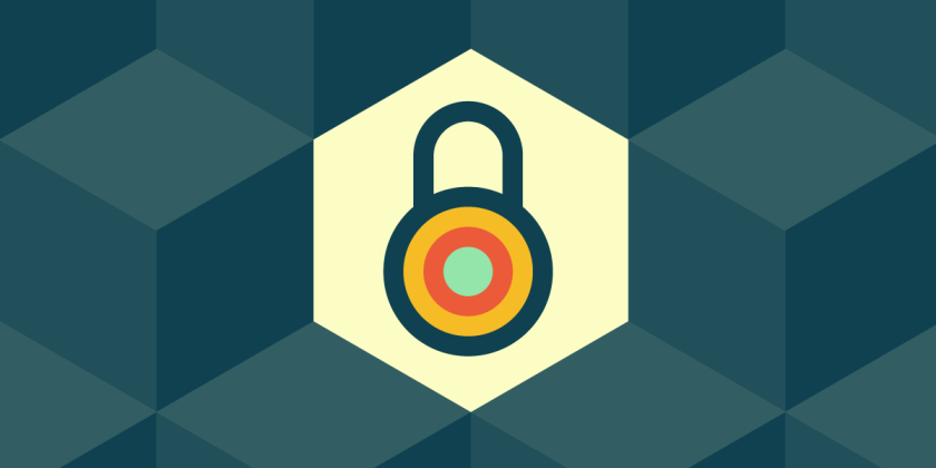 EFF's generic 'privacy' image: a padlock on a stylized, hexagonal background.