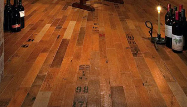 Wood Floors Made From Wine Barrels Boing Boing