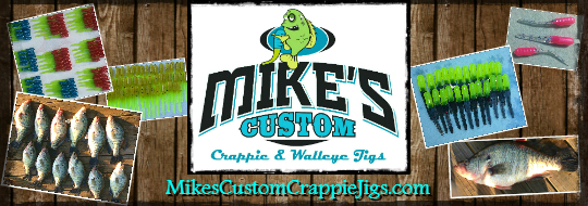 Mikes Custom Crappie and Walleye Jigs 1