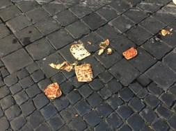 Abandoned pizza