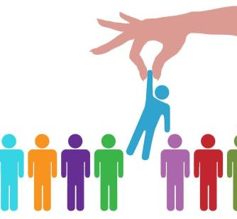 http://www.dreamstime.com/stock-photo-hand-find-select-person-line-people-image15449270