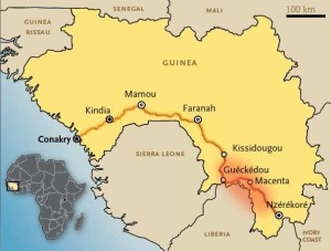 Localizzazione della zona