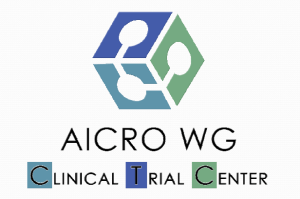 Il logo del Working Group AICRO Clinical Trial Centers