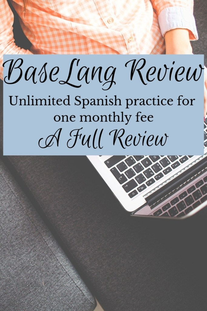 Baselang review online spanish classes