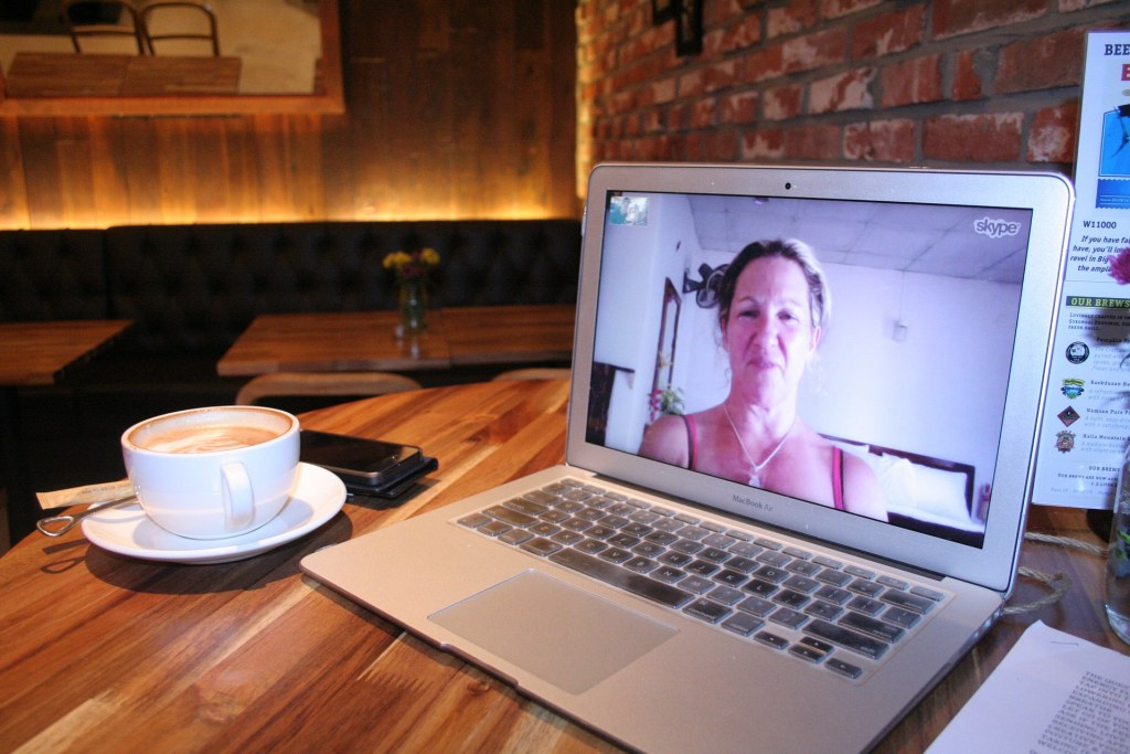Regular Skype dates can prevent common long distance relationship problems
