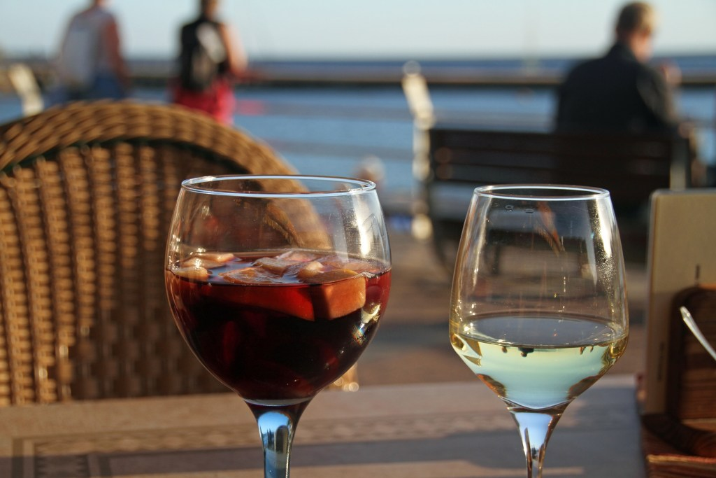 There's no tipping in Spain, and not that much sangria