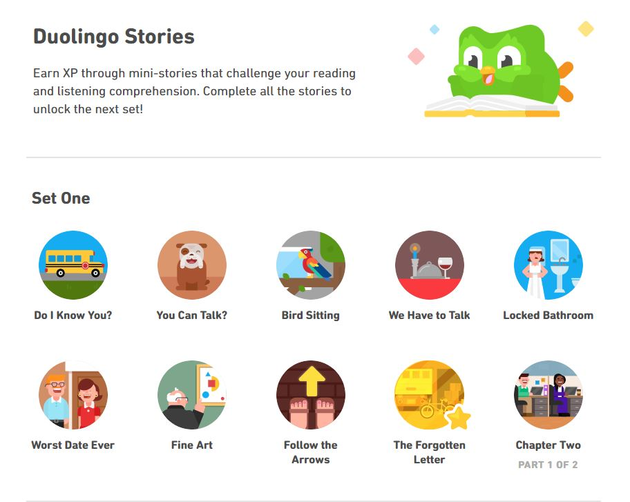 Duolingo vs Rosetta Stone: Duolingo Stories are great for language skills