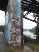 Public art in Cascade Locks