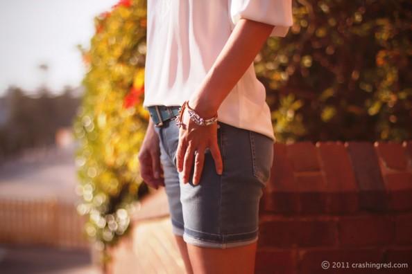 DIY leather and beads bracelet fashion blog summer style sydney 594x396 DIY leather and bead bracelet