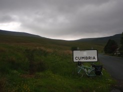 First solo cycle tour - heavy bike...