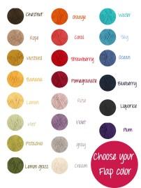 scegli il colore della tua patta! Puoi cambiare ogni giorno il colore in base al tuo umore!!