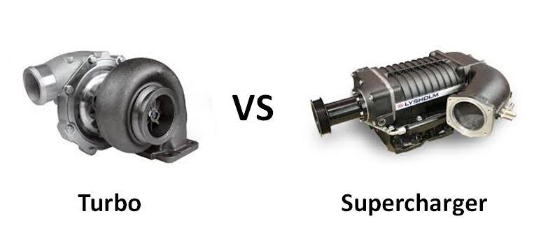 Turbo vs Supercharger