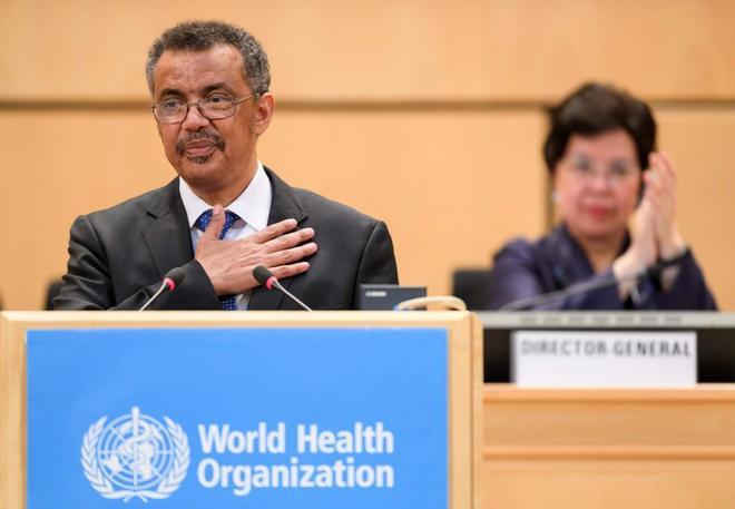 El etíope Tedros Adhanom Ghebreyesus, primer africano elegido director general de la OMS