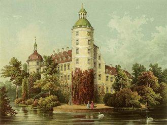 Muskau Castle - Prussian loved weird Earl of Pückler; Worldwide celebrated founder of Pückler icecream.