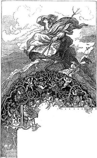 Karłów Rock - in Polish the spirit of the mountains is called Krakonoš, in Czech his name is Liczyrzepa and we call him Rübezahl.