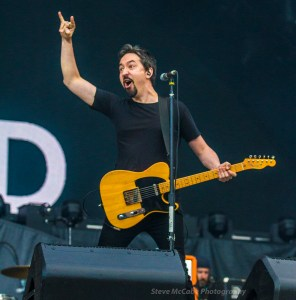 Jon Toogood of Shihad, opening for AC/DC at Western Springs Stadium, Auckland, December 15th, 2015