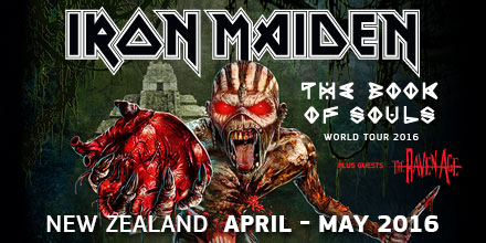 Iron Maiden — The Book Of Souls World Tour 2016