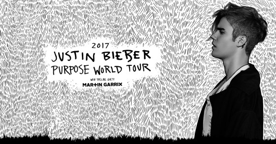 Justin Bieber Purpose World TourJustin Bieber Purpose World Tour