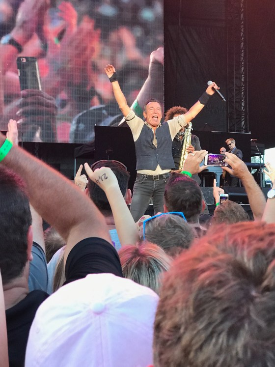 Bruce Springsteen live in Christchurch