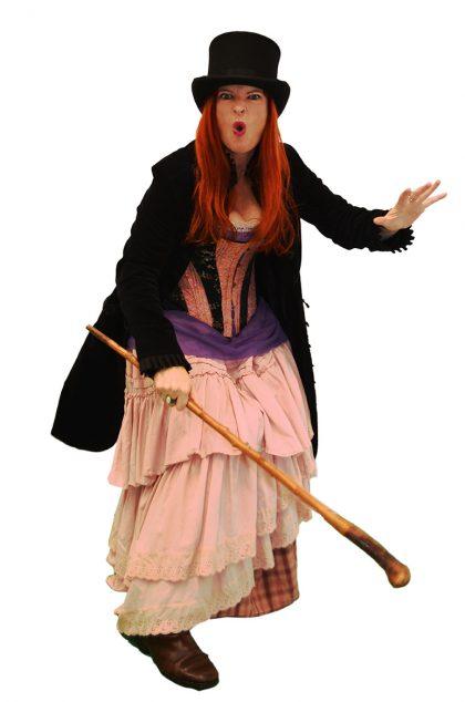 Penny Ashton in Olive Copperbottom