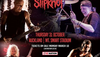 Metallica announce second Auckland show for October 2019