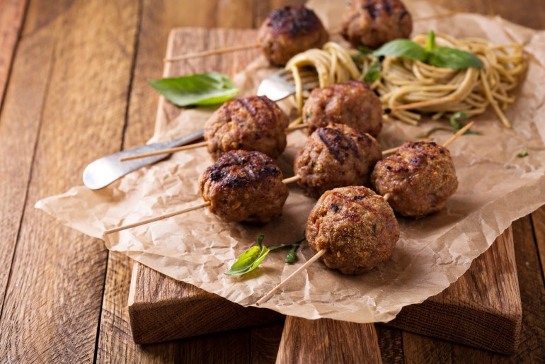 10 foods you've probably never grilled before meatballs