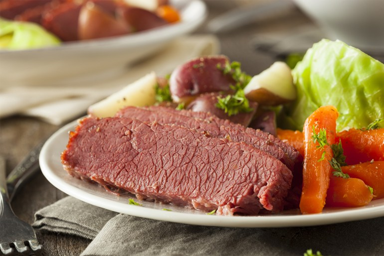 5 Irish Foods You're Basically Required to Eat on St. Patrick's Day_corned_beef