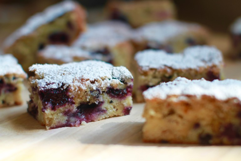 Blueberry bars bring a taste of summer