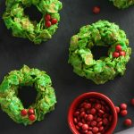 Easy Christmas wreath cookies_4