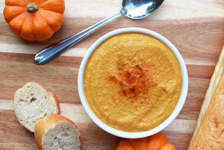 Easy cream free pumpkin bisque